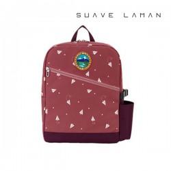 종이비행기 소풍가방&세컨 책가방 스카이퀸(핑크)